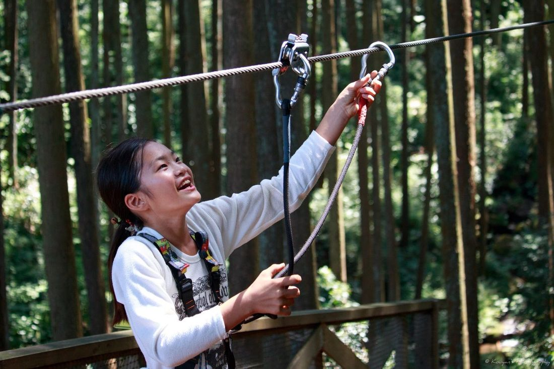 My Daughter Forest Adventures Forest Adventure Portrait FUNNING  Enjoying Life Canon EOS 70D Canon 70d Odawara