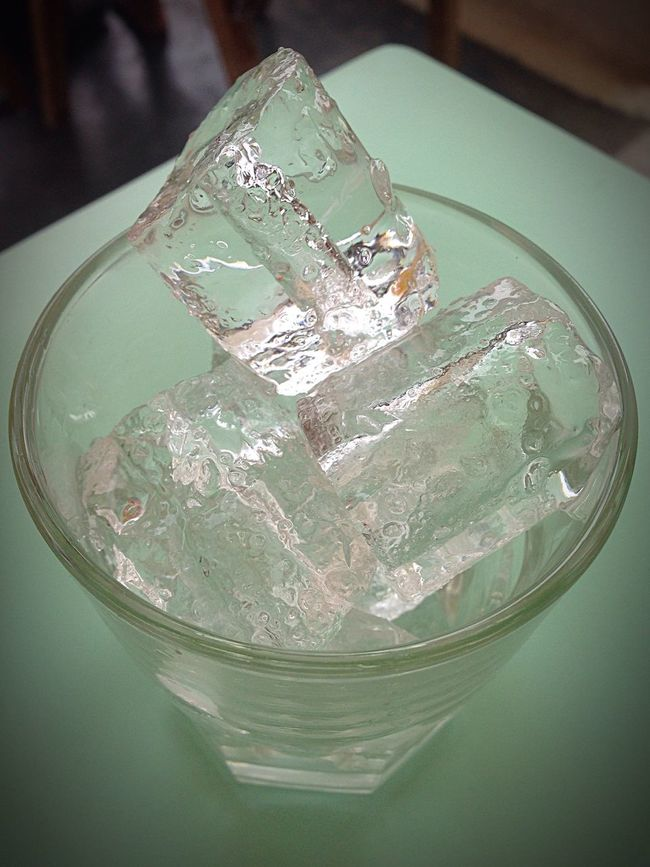 Ice Cubes Chilled Water Chilled Beating The Heat Ice Cold Temperature Quenching My Thirst  Ice Age Closeup Melting Ice