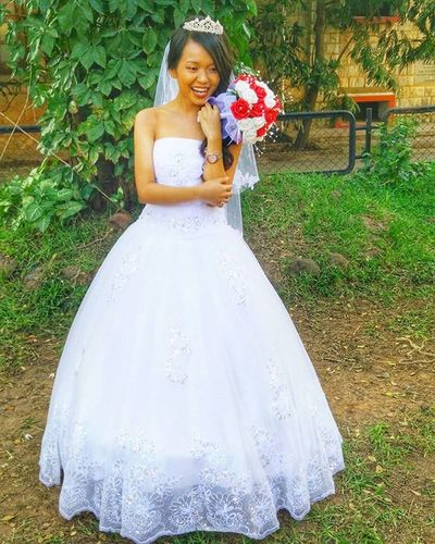 Opomdjphotography Sanjaywedsaashmin Sisterinlaw Cinderella Cunninghamchurch Blorecity Cutestbrideever RedNWhite Weddinggown AllSmiles  welcome to the family @earnestaashmeen7