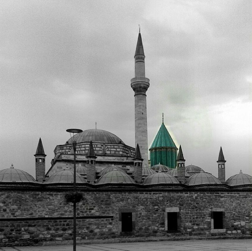 Mevlana Müzesi Foto:Hacer Dursun ComeSeeKonya Konya Mevlana Mosque Comeseeturkey