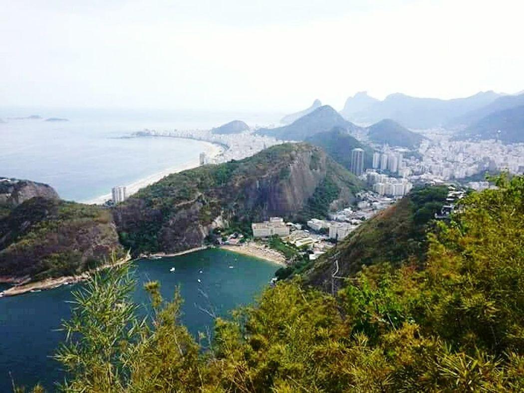 Rio De Janeiro - Brasil sea Landscape Water Coastline Outdoors Mountain Tourism Cloud - Sky Beauty In Nature Travel Photography TravelDestinations Pan De Azucar Rio De Janeiro