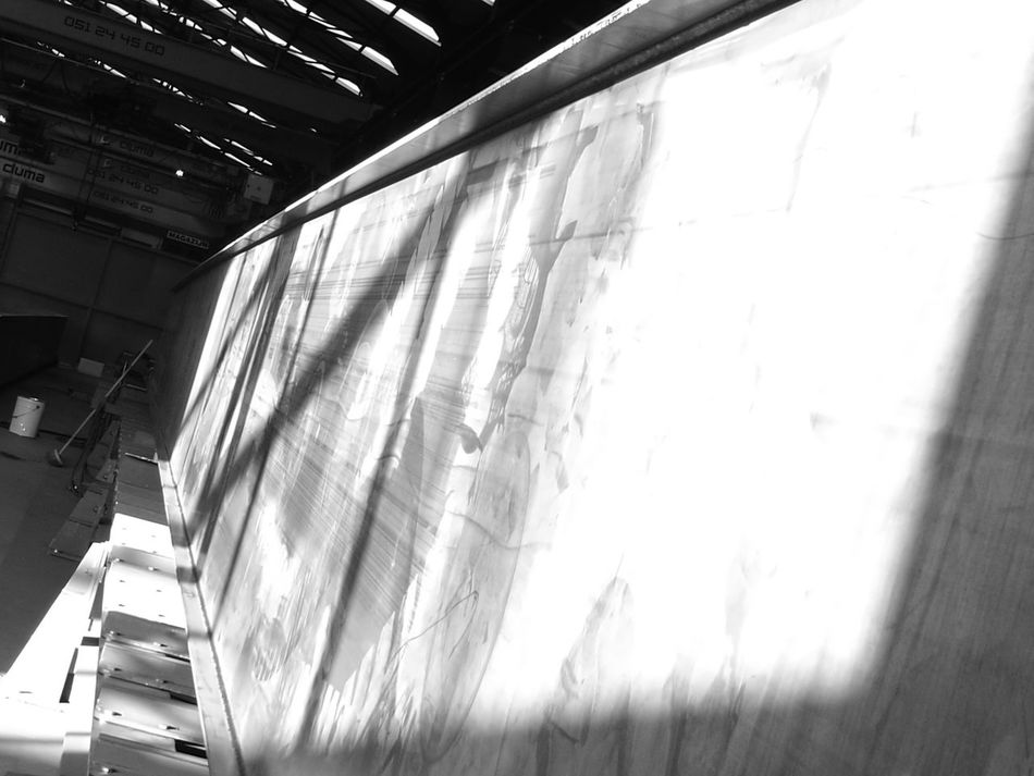 Architecture Industry Welding Work Monochrome Photography Factory Zone Finding New Frontiers Monochrome _ Collection Monochrome Working No People Indoors  Shadow