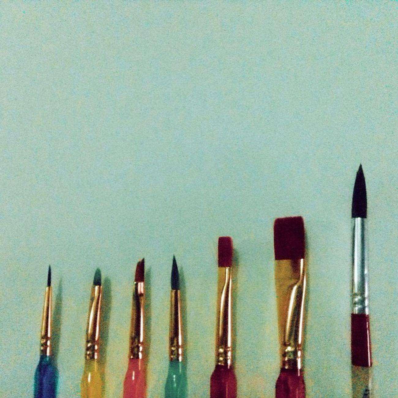 Kung kelan patapos na ang finals tsaka bumili ng paint brush. 😂🎨 Fordesignperspective Worthit VSCO Vscocam