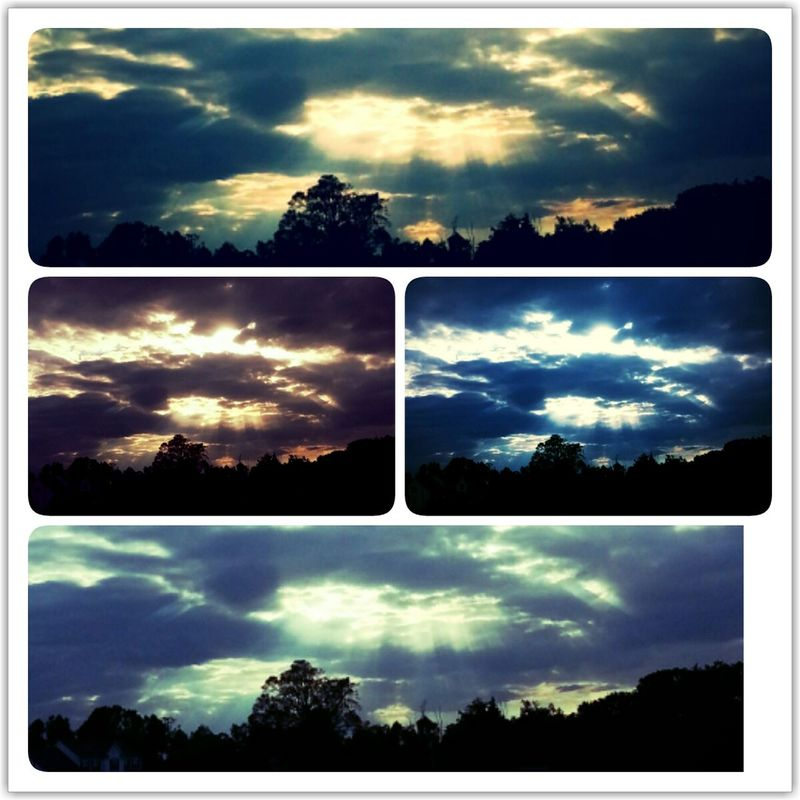 my View Sunset Clouds Sky filters