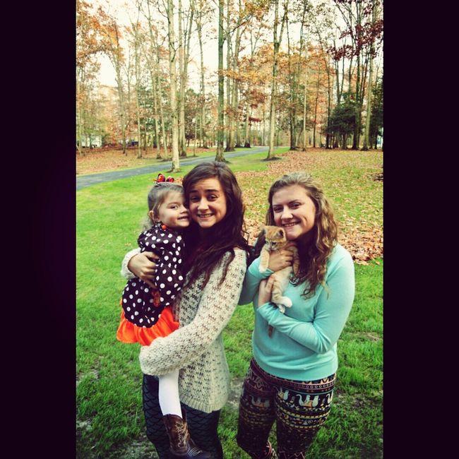 Family ? Enjoying Life Thanksgiving Kitten Sister