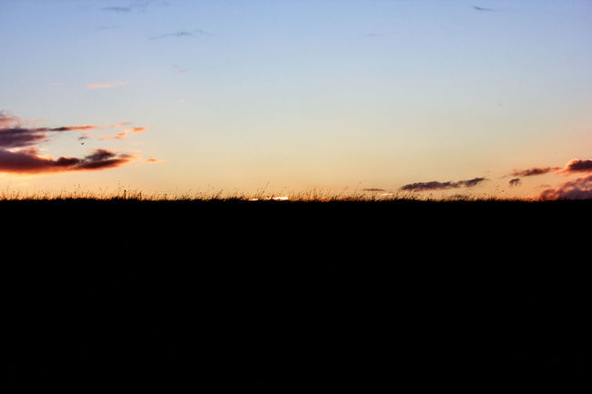 Sunset shot from Phoenix Park Beautiful Beauty In Nature Calm Cloud Copy Space Dark Horizon Over Land Landscape Majestic Nature No People Non-urban Scene Orange Color Outdoors Outline Remote Scenics Silhouette Sky Sunlight Sunset Tranquil Scene Tranquility