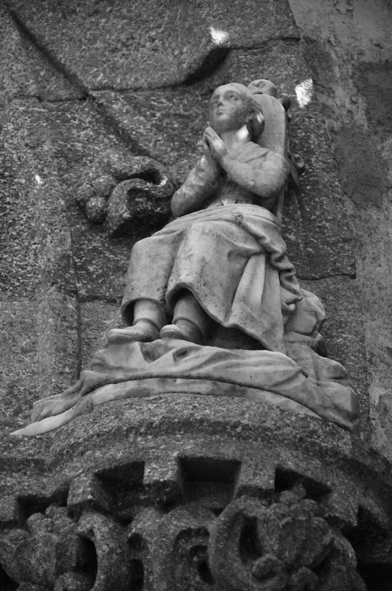 Blackandwhite Black And White Taking Photos Photo Statue Photography