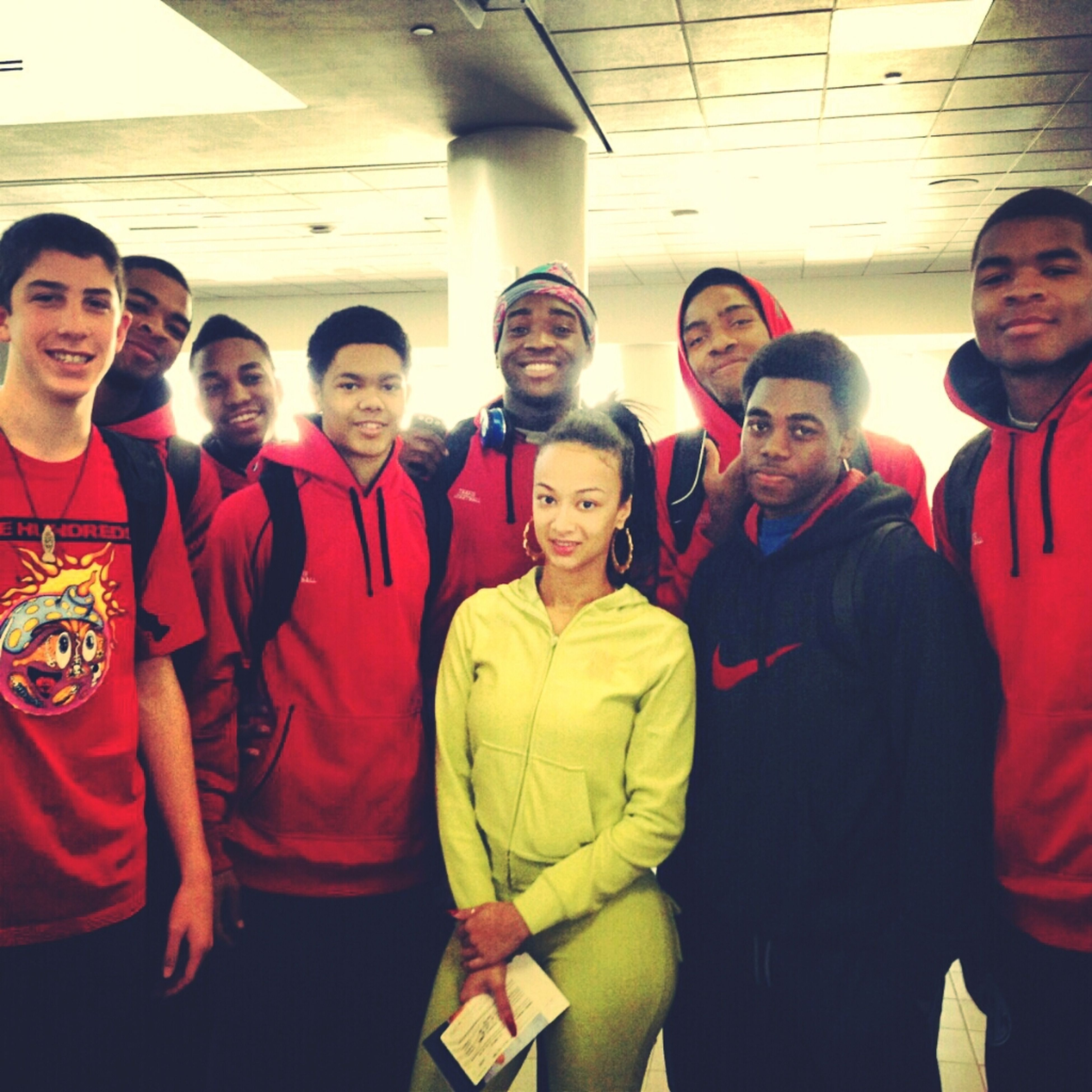 At The Airport With Draya Michele