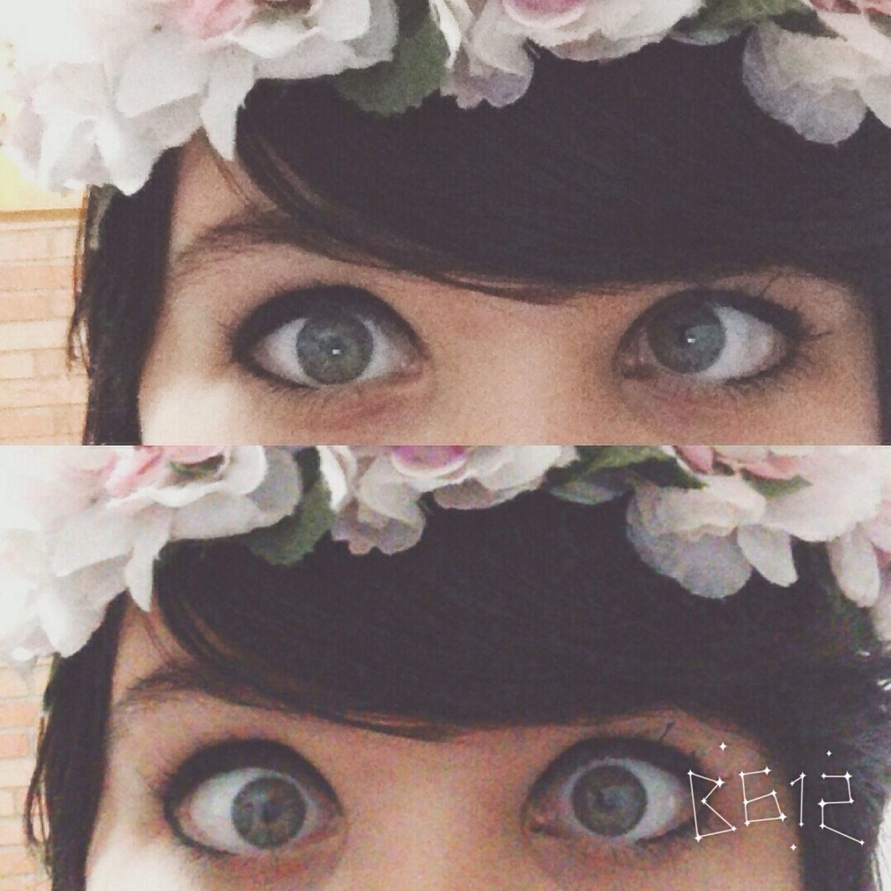 Flower Brazzang Eyes