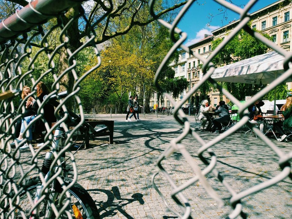 Walking Around People Watching Escaping Fences & Beyond Fence