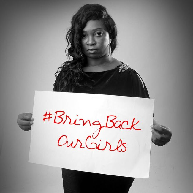 Ara the awesome drummer takes a stand for Thechibokgirls Bringbackourgirls Naija