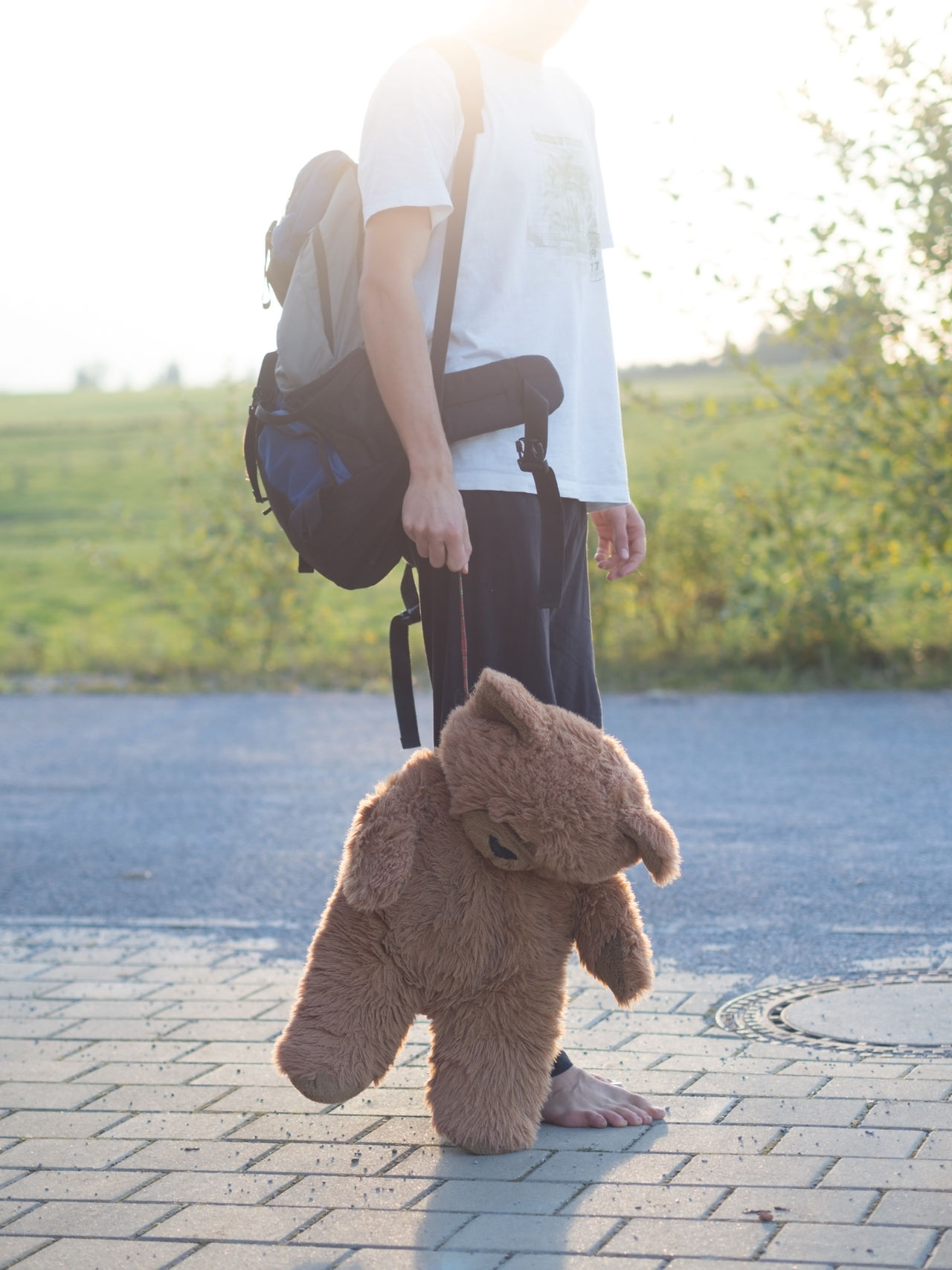 Beautiful stock photos of baer, 18-19 Years, Animal Representation, Backpack, Casual Clothing