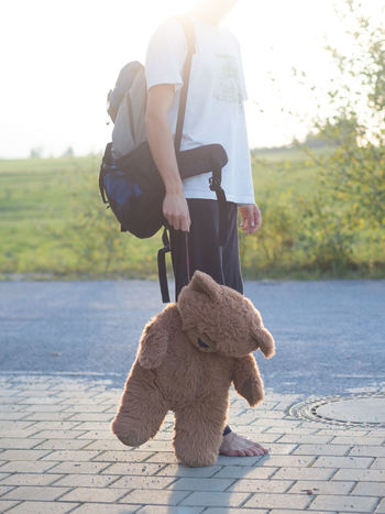 Alone Boy Child Dislodged Expelled Homeless Homesick  Homesickness Journey Miss Missing Refugee Restless Student Student Life Teddy Teddy Bear Teen Teenager Traveling World Traveller Young