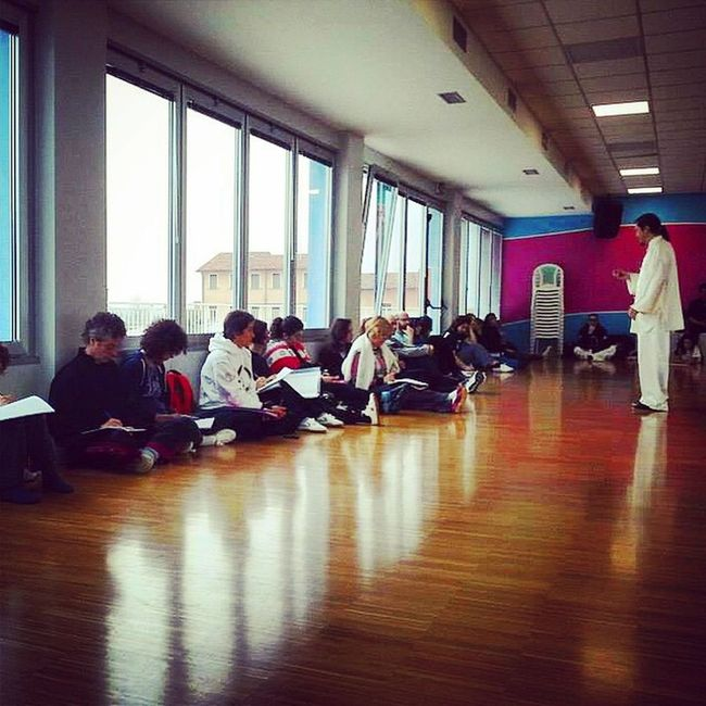 Weekend Treviso Corso Triennale Qigong Pratica Rosablu Stonetempletao Monastier Itka Istruttori
