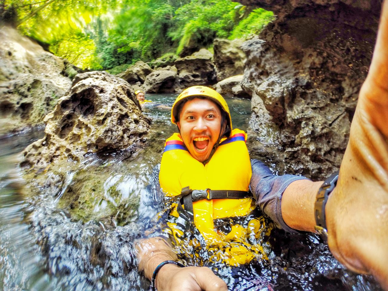 Self Portrait Around The World Greencanyon  Pangandaran