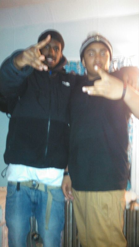 Me and My Bro Rico Flexing