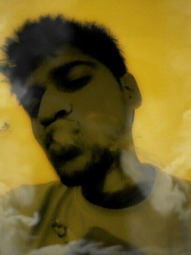 Smoking That's Me now rolling Enjoying Life Weed Life ..... :-P