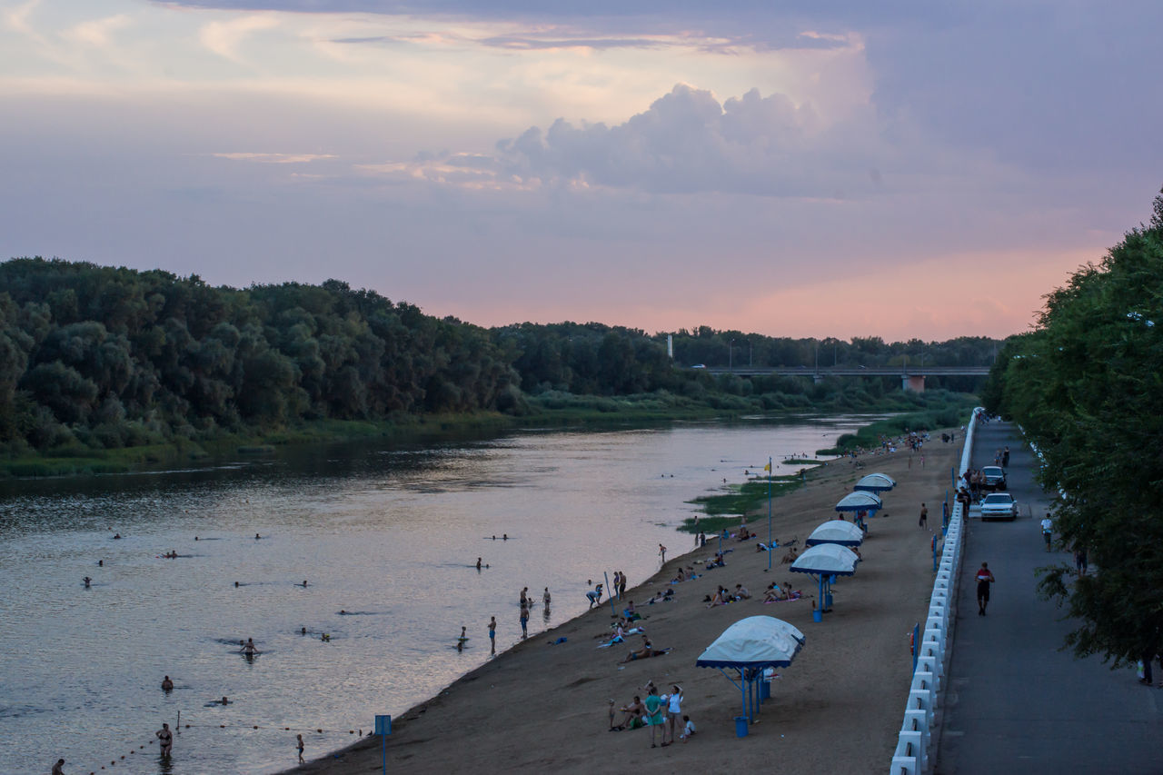 Sunset on the river Ural! Landscape Shore Beach Evening Sky Evening Light River View River Ural Eye4photography  Colors Sky And Clouds I LOVE PHOTOGRAPHY Colors Relaxing My Favorite Photo River People Of EyeEm Nature Reflections Water Reflections Sky_collection EyeEm Masterclass First Eyeem Photo From My Point Of View Eyeembestpics Eyeem Gallery Capture The Moment Popular EyeEm Best Edits