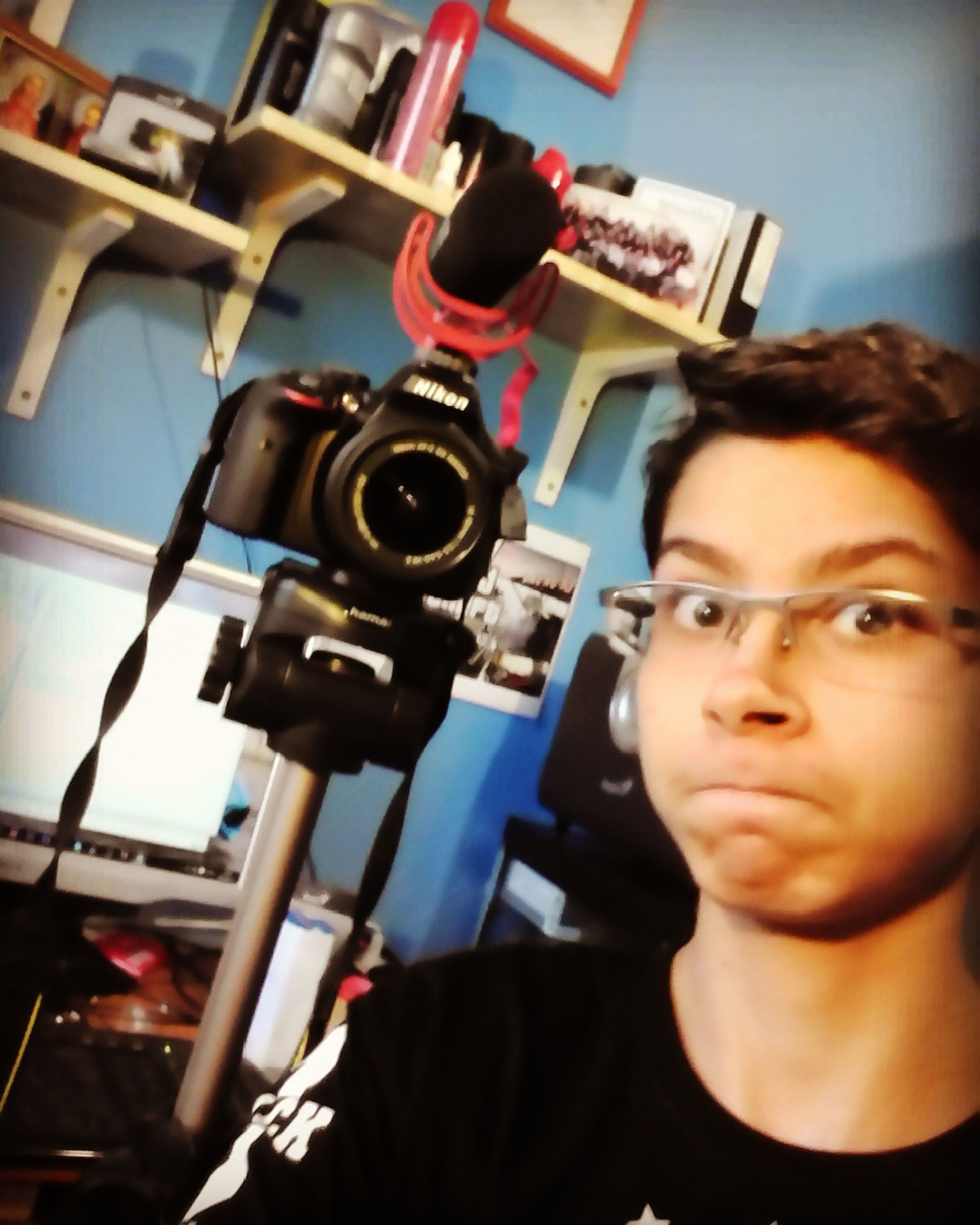 My YouTube Channel : NorbiuS (i'm a hungarian youtuber) Nikon D3300 Youtuber Rodevideomicgo
