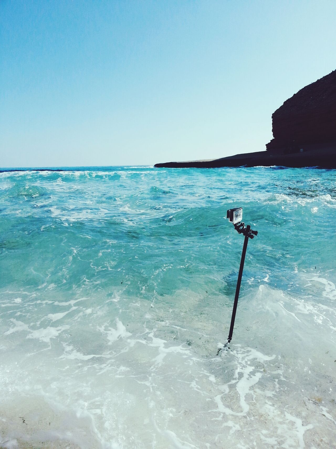 GoPro + the beach. Travel Backpacking