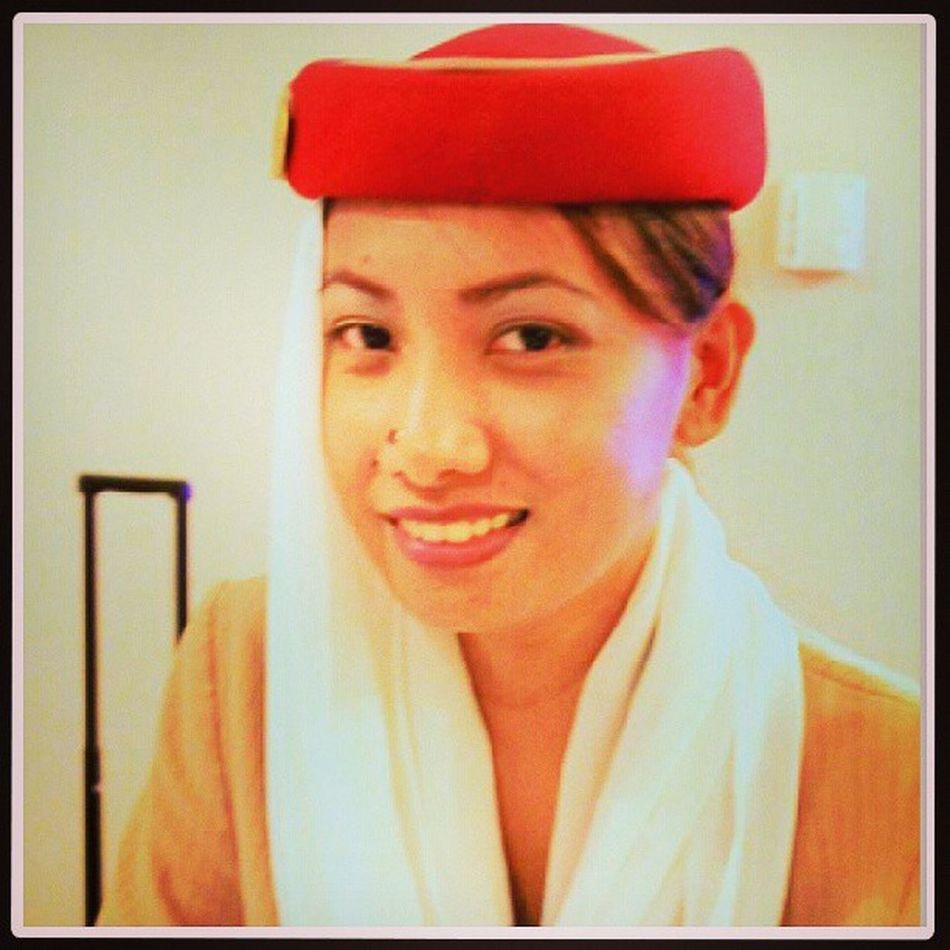 Fly Emirates! Thanks bezzy sa opportunity <3 Ambisyosa