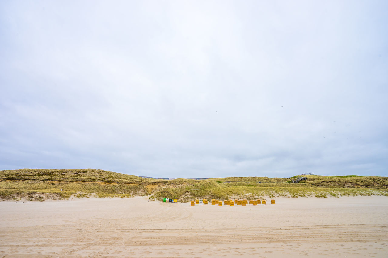Beach Beauty In Nature Cloud Cloud - Sky Clouds And Sky Day Germany Nature Ocean Off Season Outdoors Sand Scenics Sky Summer Sylt Tranquil Scene Tranquility