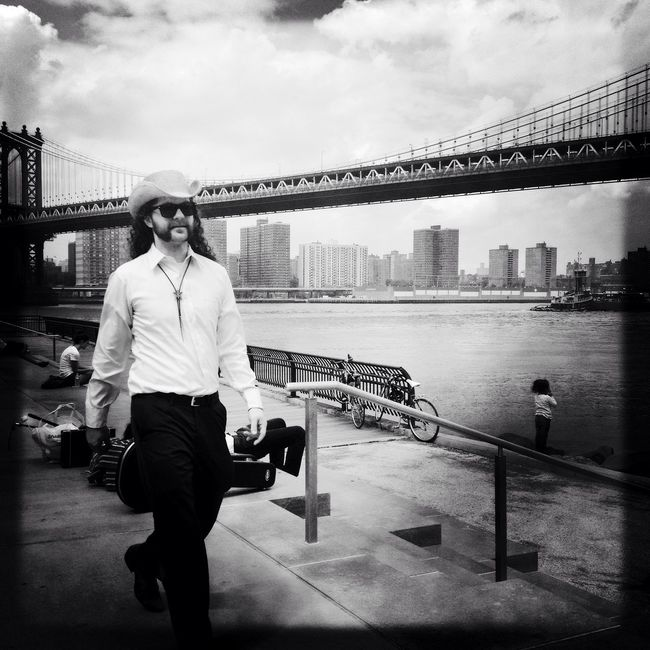 Urban Cowboy The Street Photographer - 2015 EyeEm Awards Newyorkcity Blackandwhite Streetphotography AMPt_community