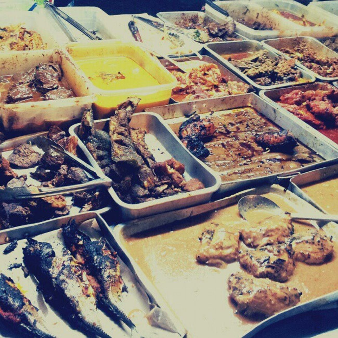 Lauk pauk Menu Saji Kelantan Jalanjalancarimakan ikan malaysia