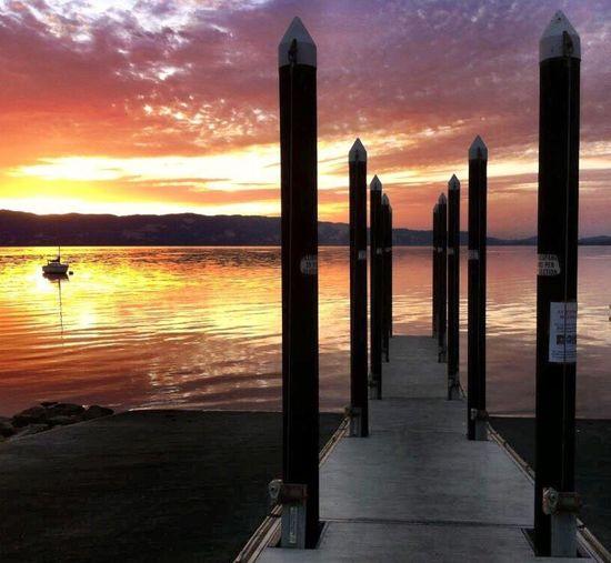 Sunrise Lake Clear Lake  Lake County, Ca