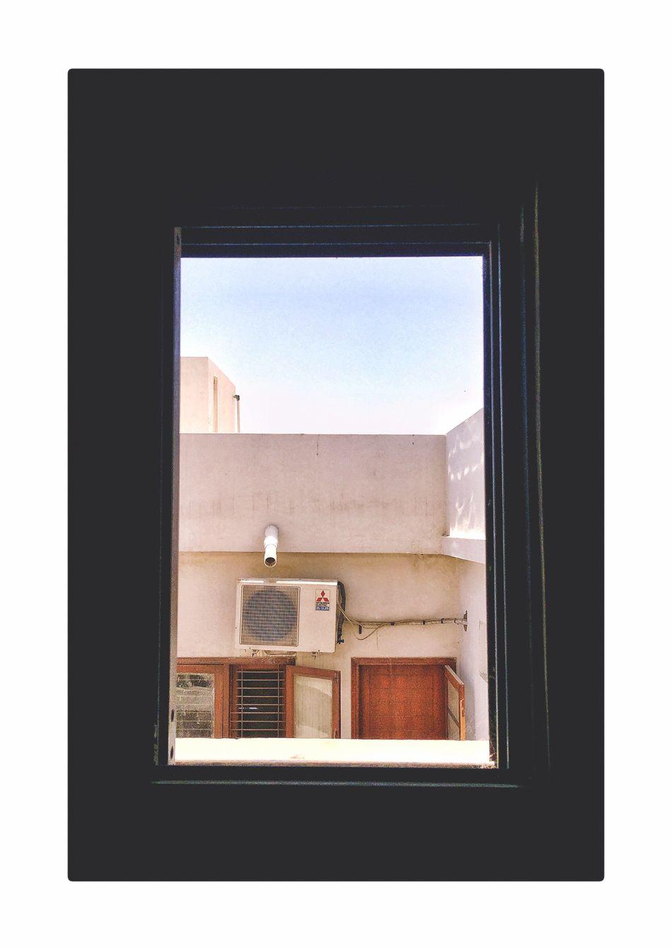 It isn't what it seems like Window Architecture Building Exterior Built Structure Eye4photography  EyeEmBestPics EyeEm Best Edits EyeEm EyeEm Best Shots EyeEm Gallery Eyeemphotography Karachi Frame It!