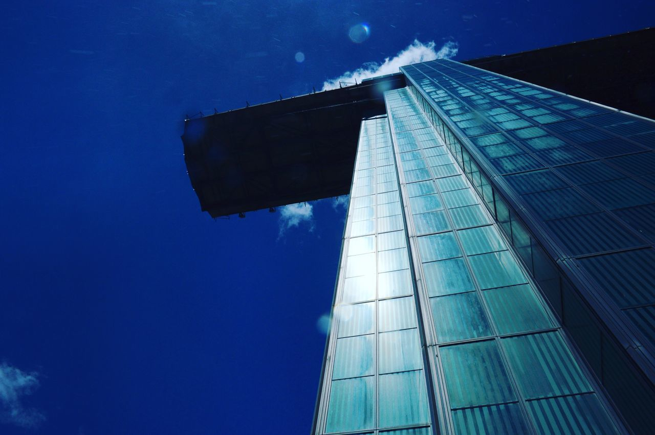 Architecture Built Structure Modern Skyscraper Low Angle View Building Exterior Sky Blue No People Day Outdoors Travel Destinations City