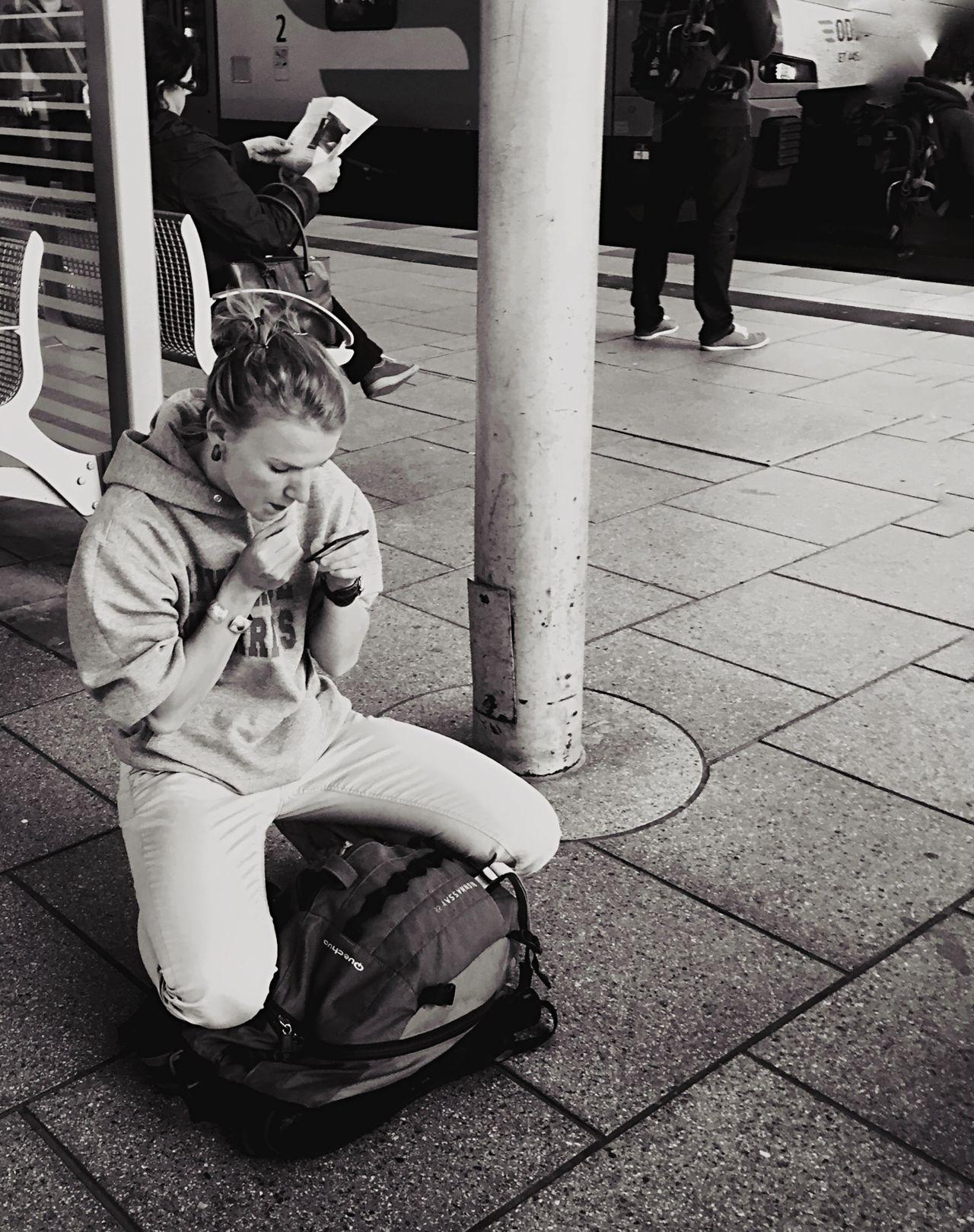 Streetphotography Mpro Blackandwhite Open Edit Berlin Mobilephotography.de The Street Photographer - 2015 EyeEm Awards Shades Of Grey
