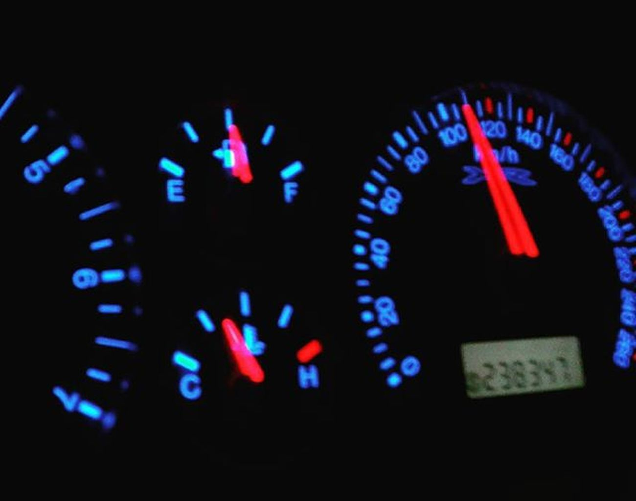Headinghome Travelling Night Norsewood NZ Newzealand Aotearoa Car Vehicle Dashboard Ford Falcon Randomtrip Fyp_minimac_bbg 9vaga_colorblue9 Tvc_np_black Speedometer 9vaga_letters9