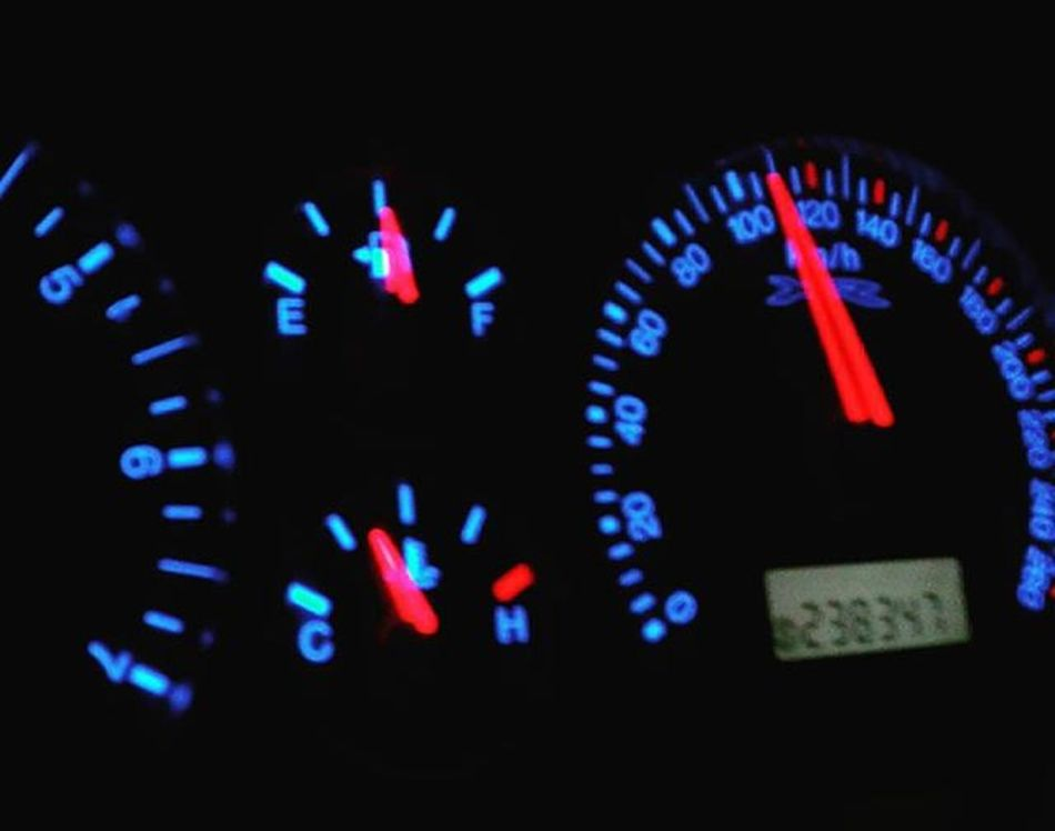 Headinghome Travelling Night Norsewood NZ Newzealand Aotearoa Car Vehicle Dashboard Ford Falcon Randomtrip Fyp_minimac_bbg 9vaga_colorblue9 Tvc_np_black Speedometer 9vaga_letters9