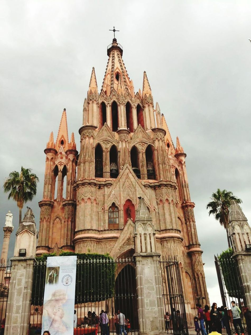 Cathedral Catedral Sunday Mass Mexico Beautiful Arquitectura Architecture Iglesia Church San Miguel De Allende