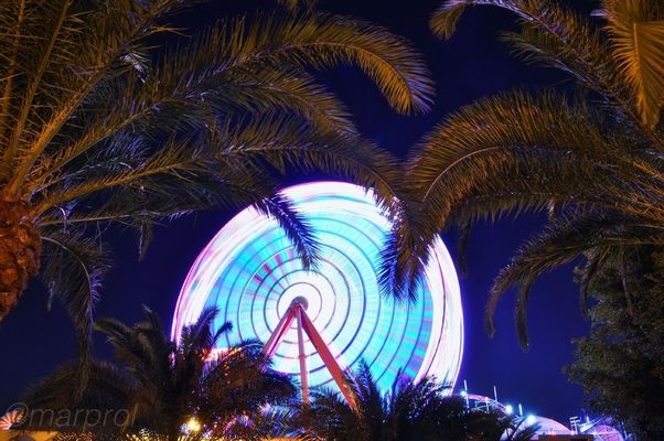 Night Lights at Gran Canaria by marprol