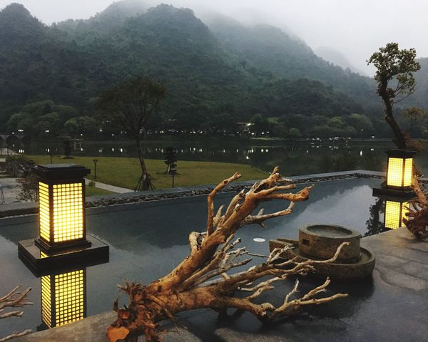Nature Mountain Tree Outdoors Beauty In Nature Water Sky Picture Nature High Hill China