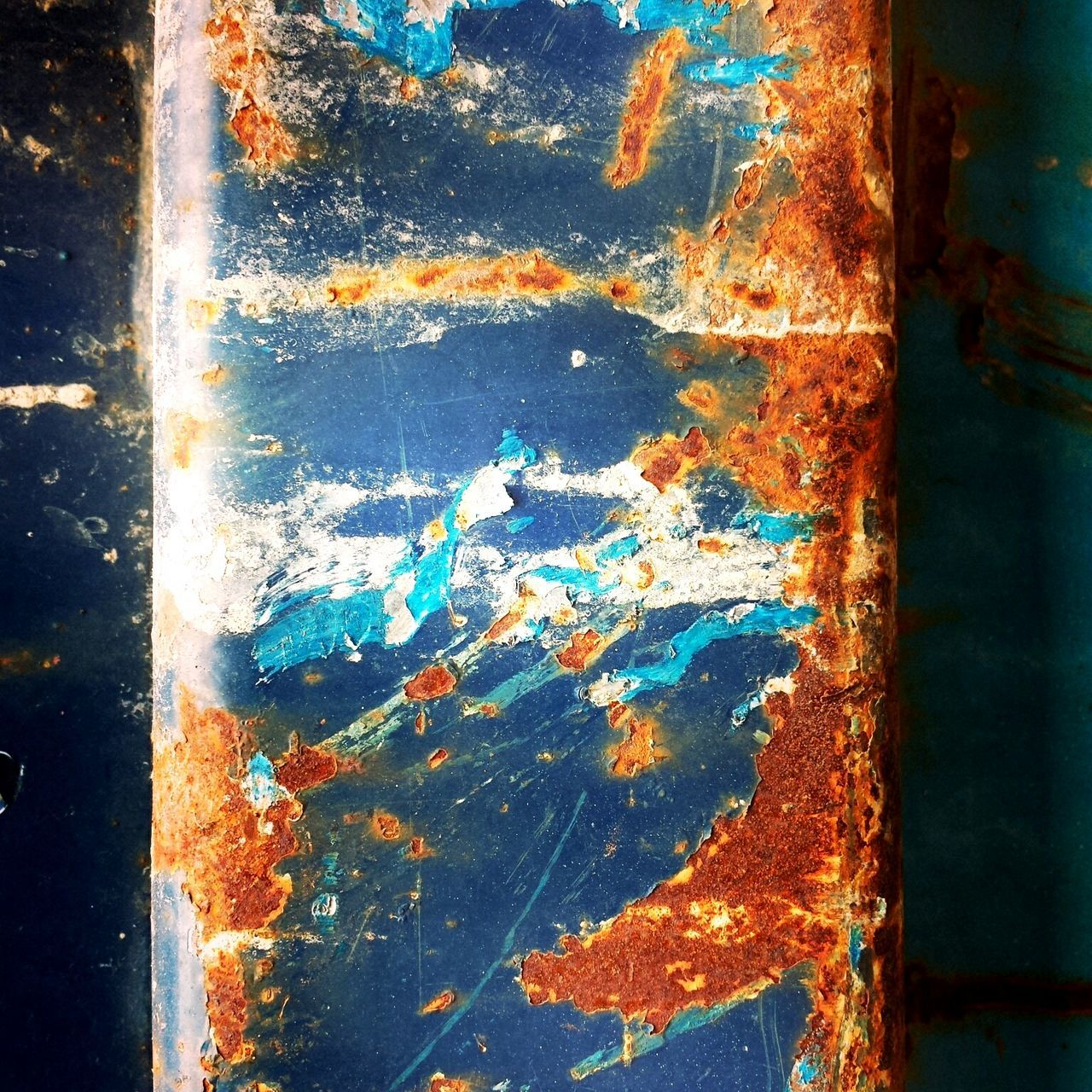 Dumpster Rust Paint Decay Abstract Accidental Art Unintentional Art Accidentalart Unintentionalart
