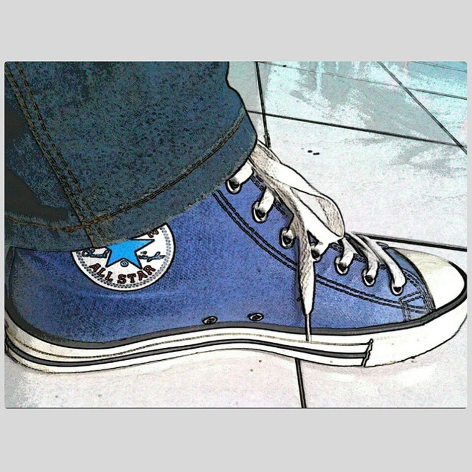 Cartoonize My Converse Shoes