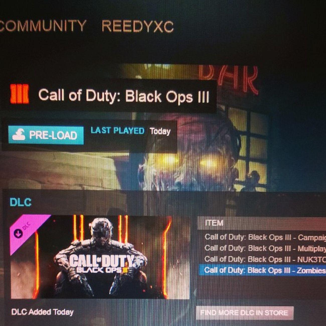 Blackops3 PC PreLoad! GRAB A COPY AT KINGUIN.NET/R/REEDY FOR £27!! PCGaming Pcmasterrace CallOfDuty COD Gaming