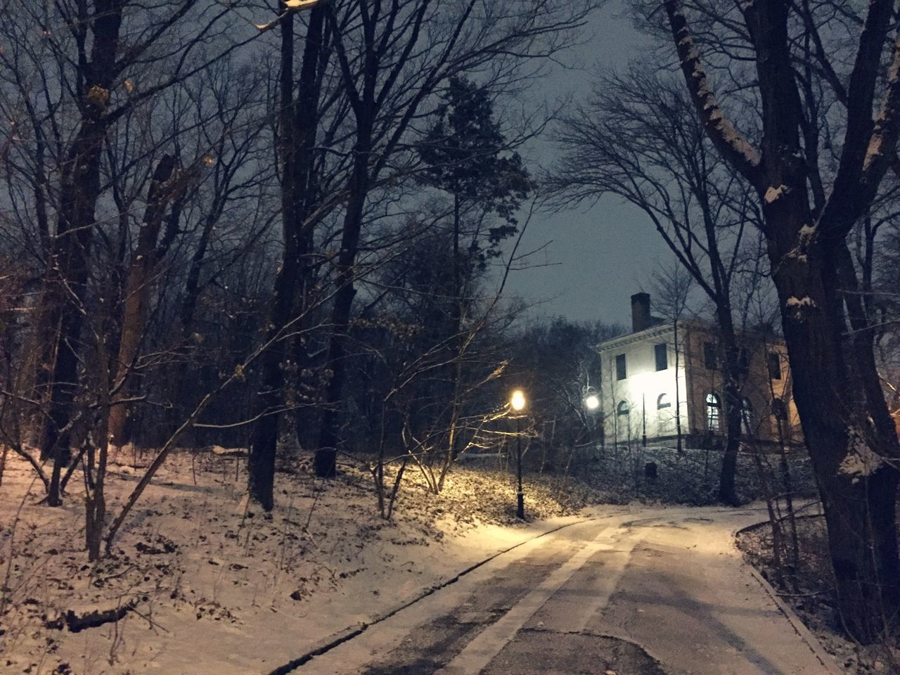 Lefferts Mansion Prospect Park Brooklyn Park Slope Winter Wonderland Snow