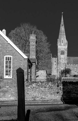 Brixworth Saxon Church, Northamptonshire Architecture Black And White Chuches Northamptonshire