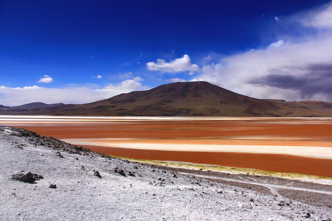Laguna Colorada Colorful Colors Andes Wonderful_places Andes Mountains Amazing Place Quechua Landscape