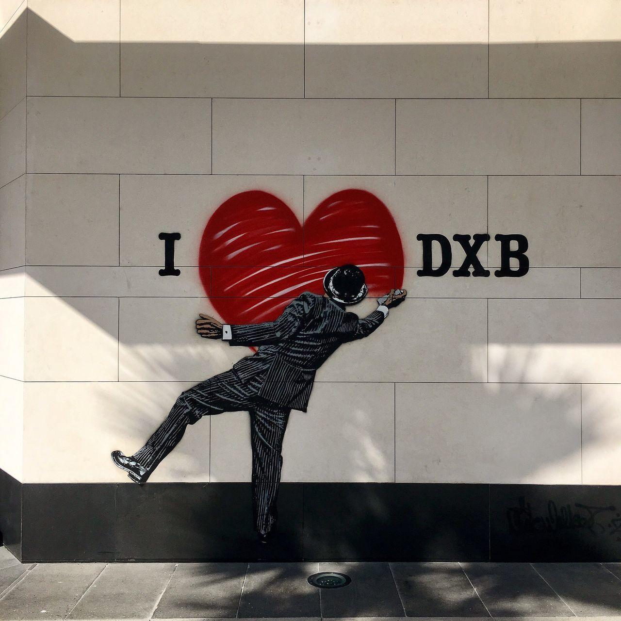 Urban Grafetti Wallart City Dubai