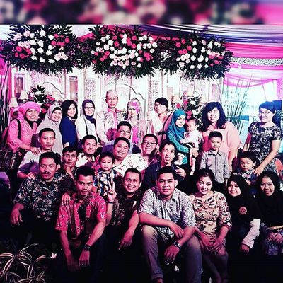 HDW GUN & KHADIJAH, KawanKawin SmsF Wedding BitzArt Friends