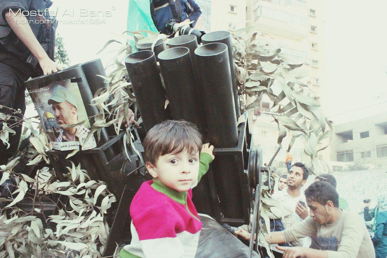 Gaza Qassam من العروض العسكرية لكتائب القسام يوم امس في ذكرى حجارة_السجيل