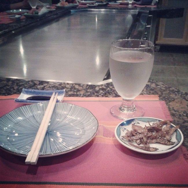 Hamada Japanese Restaurant :) Enjoy your dinner guys :) Baguiocountryclub