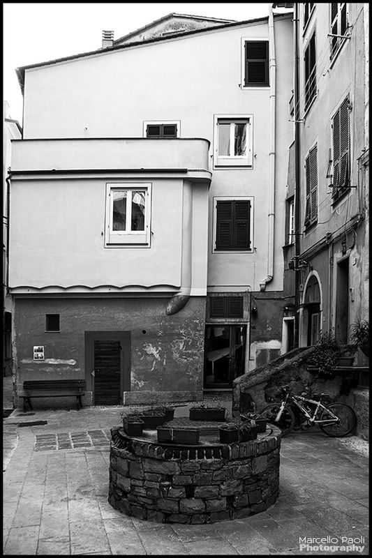 eye4photography  blackandwhite black and white italy streetphoto_bw by Marcello