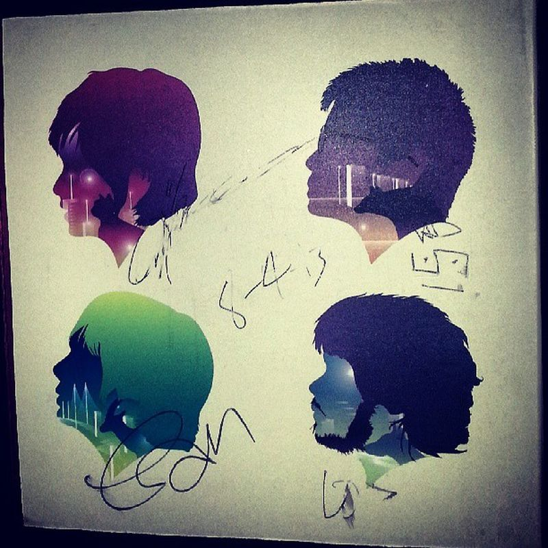 Signed cd by @up_dharma_down awesome gig at 19 East! Instagramthatshit GoodTimes Goodmusic Updharmadown