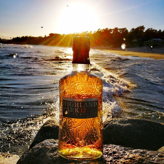 Fantastic. Water Sunset Sea No People Nature Sky Whiskyviewhunting Nature Bottle Beuty In Nature EyeEmNewHere Alcohol Huawei P10 Whisky Vikingsoul HighlandPark Live For The Story Beach Horizon Over Water Stones & WaterMotion Freshness Whisky And Water Close-up Sommergefühle EyeEm Selects The Week On EyeEm